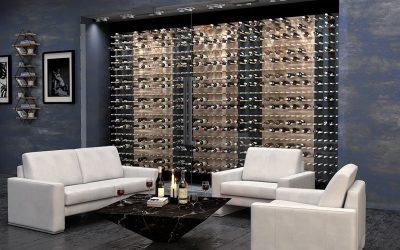 ARDINART'tan Şarap Raf Sistemi – Modern Şarap Depolama